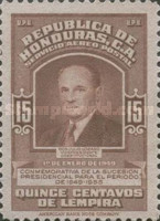 [Airmail - Inauguration of President Juan Manuel Galvez - Inscribed