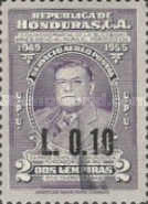 [Airmail - Previous Issues Surcharged, type EA2]