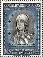 [Airmail - The 500th Anniversary of the Birth of Queen Isabella I of Spain, type EE]
