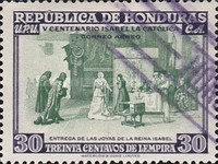 [Airmail - The 500th Anniversary of the Birth of Queen Isabella I of Spain, type EF]