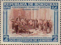 [Airmail - The 500th Anniversary of the Birth of Queen Isabella I of Spain, type EG]