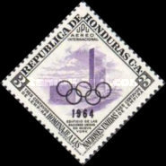[Airmail - Pre-Olympic Games - Previous Issues Overprinted with Olympic Rings and 1964, Typ EJ1]