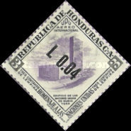 [Airmail - Previous Stamps Surcharged, Typ EJ2]