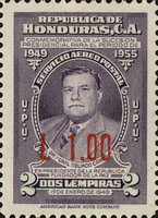 [Airmail - Previous Stamps Surcharged, Typ EQ4]