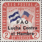 [Airmail - Freedom from Hunger - Previous Issues Overprinted