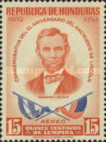 [Airmail - The 150th Anniversary of the Birth of Abraham Lincoln, Typ FP1]