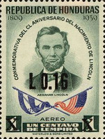 [Airmail - Previous Stamps Surcharged, Typ FP8]