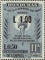 [Airmail - Previous Stamps Surcharged, Typ FY2]