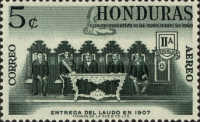[Airmail - Settlement of Boundary Dispute with Nicaragua, Typ GB]