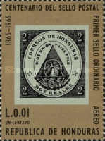 [Airmail - The 100th Anniversary of Stamp in Honduras, type GW]