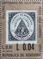 [Airmail - Various Stamps Surcharged, Typ GW1]