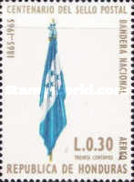 [Airmail - The 100th Anniversary of Stamp in Honduras, type HJ]