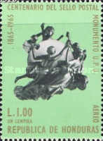 [Airmail - The 100th Anniversary of Stamp in Honduras, type HL]
