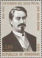 [Airmail - The 100th Anniversary of Stamp in Honduras, type HM]