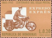 [Express Stamp - The 100th Anniversary of Stamp in Honduras, Typ HN]