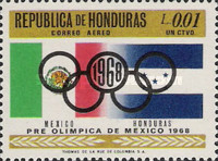 [Airmail - Olympic Games - Mexico City, Mexico, Typ HV]