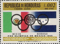 [Airmail - Olympic Games - Mexico City, Mexico, Typ HV1]