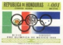 [Airmail - Olympic Games - Mexico City, Mexico, Typ HV2]