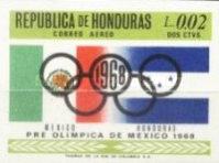 [Airmail - Olympic Games - Mexico City, Mexico, Typ HV3]