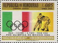 [Airmail - Olympic Games - Mexico City, Mexico, Typ HW]