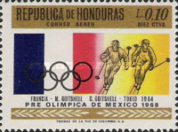 [Airmail - Olympic Games - Mexico City, Mexico, Typ HX]