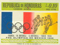 [Airmail - Olympic Games - Mexico City, Mexico, Typ HX1]