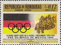 [Airmail - Olympic Games - Mexico City, Mexico, Typ HY]