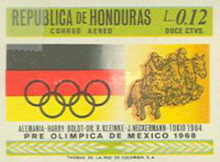 [Airmail - Olympic Games - Mexico City, Mexico, Typ HY1]