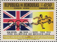 [Airmail - Olympic Games - Mexico City, Mexico, Typ HZ]