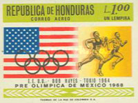 [Airmail - Olympic Games - Mexico City, Mexico, Typ IA1]