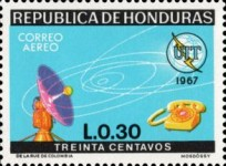 [Airmail - The 100th Anniversary International Telecommunications Union, Typ IC1]