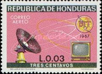 [Airmail - The 100th Anniversary International Telecommunications Union, Typ ID]