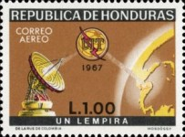 [Airmail - The 100th Anniversary International Telecommunications Union, Typ IE1]