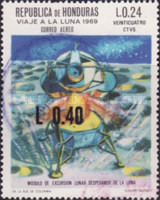 [Airmail - Various Stamps Surcharged, Typ IK4]