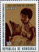 "[Airmail - ""S.O.S."" Children's Villages in Honduras, Typ JG]"