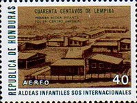 "[Airmail - ""S.O.S."" Children's Villages in Honduras, Typ JJ]"