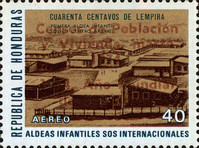 "[Airmail - Census and World Population Year - Various Stamps Overprinted ""Censos de Poblacion y Vivienda, marzo 1974. 1974 Ano Mundial de Poblacion"", Typ JJ1]"