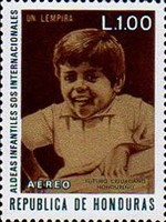 "[Airmail - ""S.O.S."" Children's Villages in Honduras, Typ JK]"