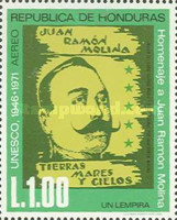 [Airmail - The 25th Anniversary of U.N.E.S.C.O. and Juan Ramon Molina Commemoration, Typ JP]