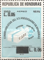 [Airmail - Various Stamps Surcharged, Typ KK5]