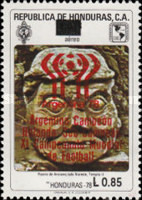 [Airmail - Previous Issues Surcharged, Typ LO4]