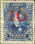 [Issue of 1907 Surcharged, Typ M11]