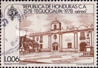 [Airmail - The 400th Anniversary of Founding of Tegucigalpa, Typ MH]
