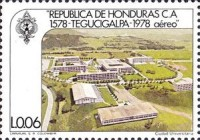 [Airmail - The 400th Anniversary of Founding of Tegucigalpa, Typ MI]