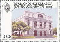 [Airmail - The 400th Anniversary of Founding of Tegucigalpa, Typ MK]