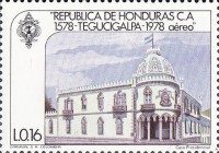 [Airmail - The 400th Anniversary of Founding of Tegucigalpa, Typ MO]