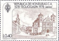 [Airmail - The 400th Anniversary of Founding of Tegucigalpa, Typ MR]