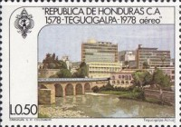 [Airmail - The 400th Anniversary of Founding of Tegucigalpa, Typ MU]