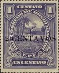 [Costal Landscape Stamps of 1911 Surcharged, type N9]