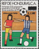 [Airmail - Football World Cup - Italy - Previous Issue Overprinted